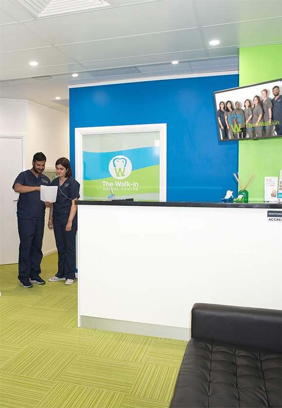 Walk-In Dentist Marangaroo Reception