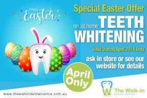 Easter April Teeth Whitening Offer