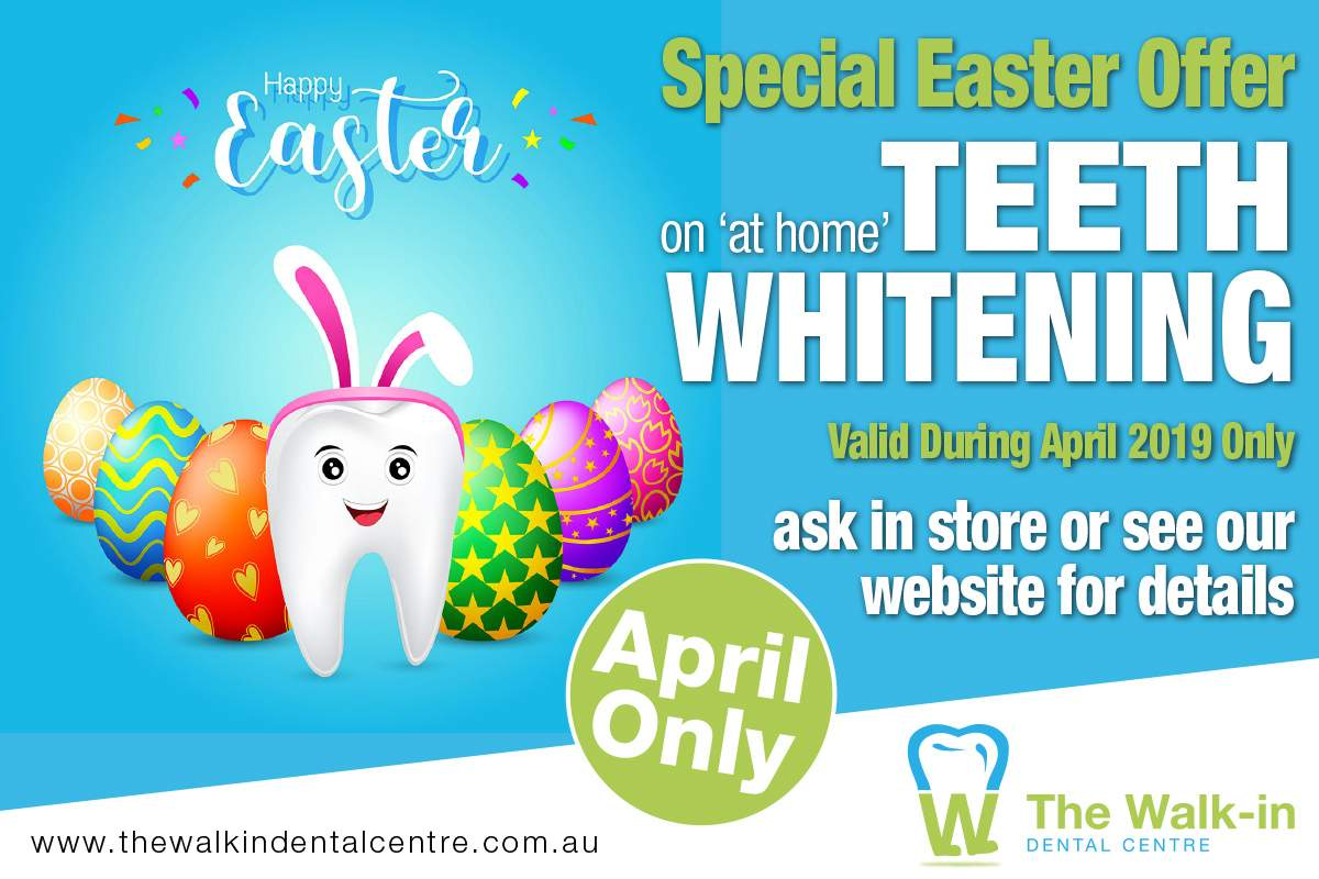 Easter April Teeth Whitening Offer