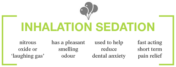 Inhalation Sedation Benefits